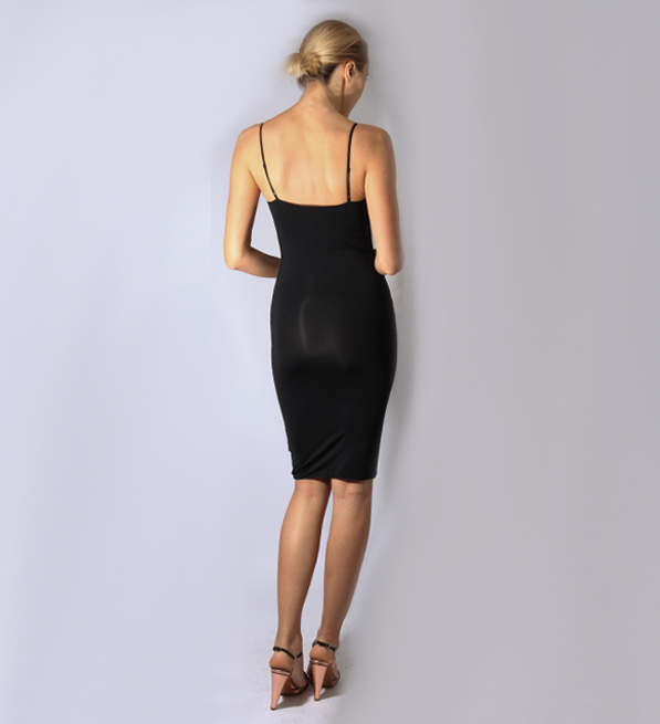 byTimo 40's Slip Dress in Black