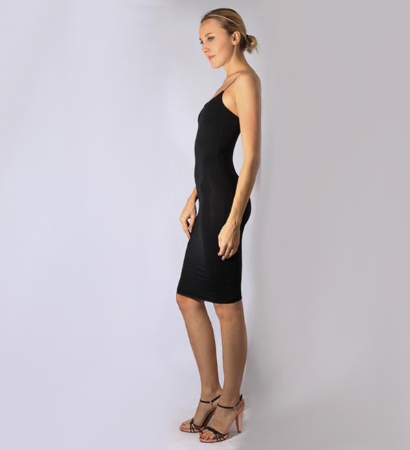 byTimo 40's Slip Dress in Black