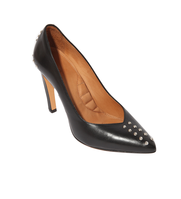 IRO Black Studded Escala Pump