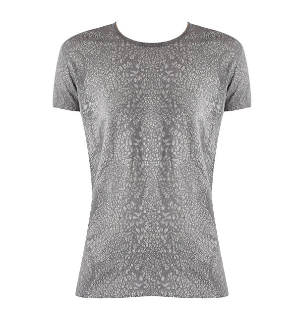 RTA Nicola T Shirt in Space Leopard