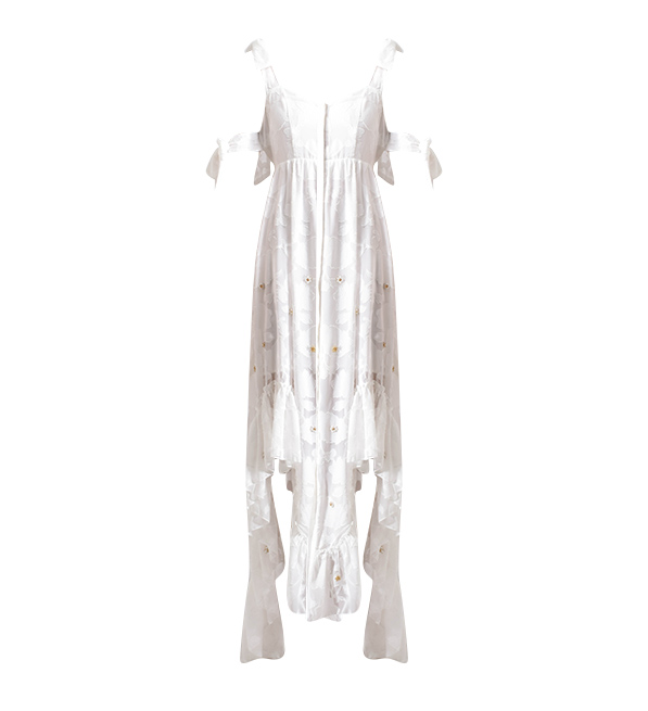 We Are Kindred Stephanie Frill Maxi Dress