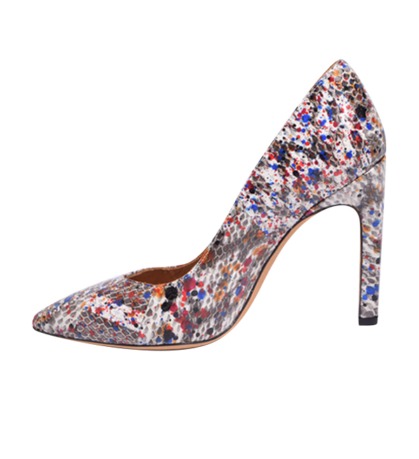 IRO Elisa Escarpin Pump in Multi