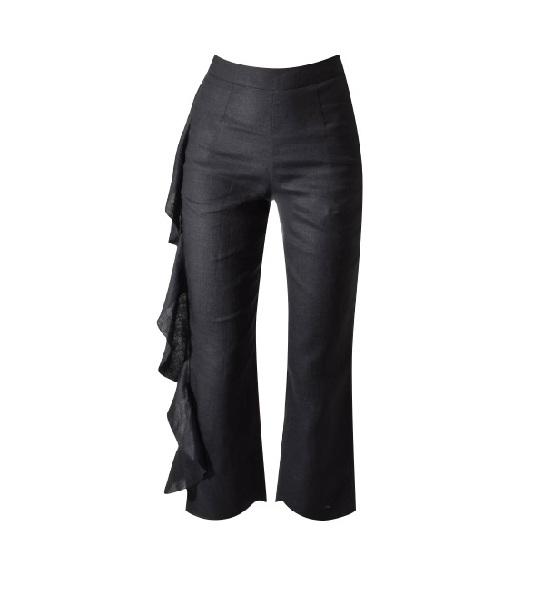 Karina Grimaldi Marcus Pants in Black