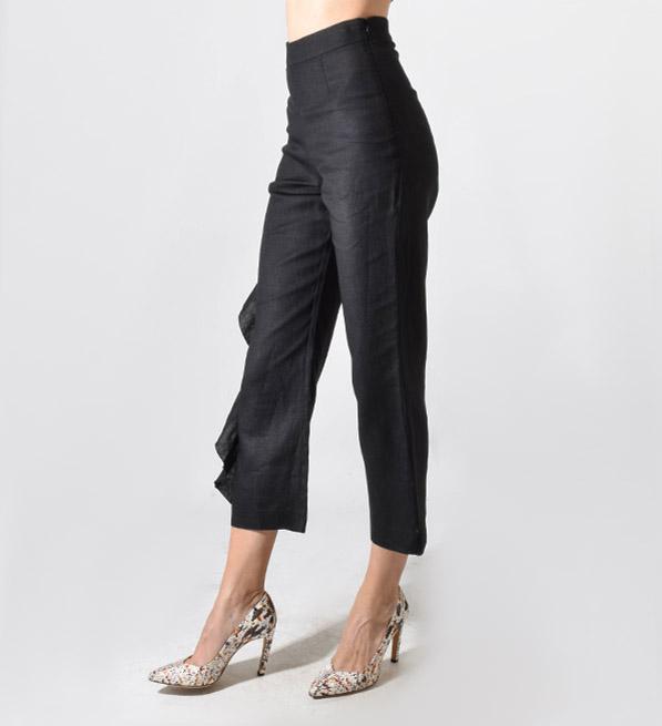 Karina Grimaldi Marcus Pants in Black