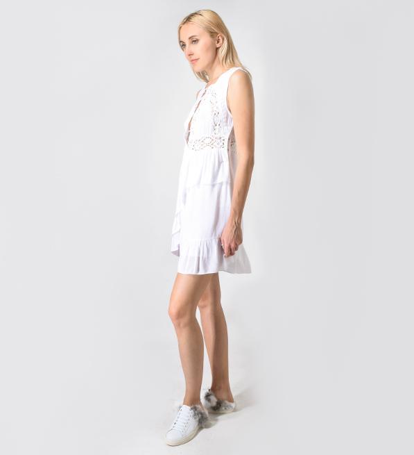 IRO Leedly Robe Dress in White
