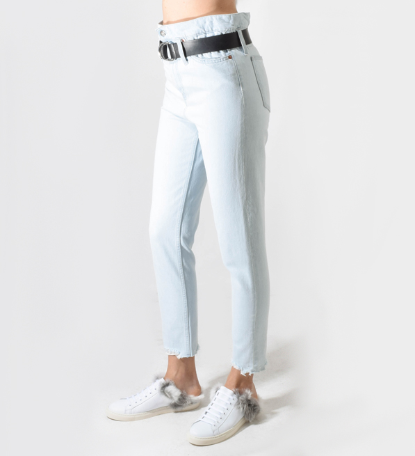IRO Aven Belted Paperbag Jeans