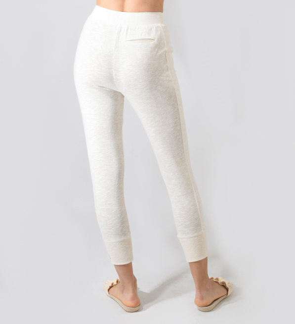 June 7.2 Megan Pants in White