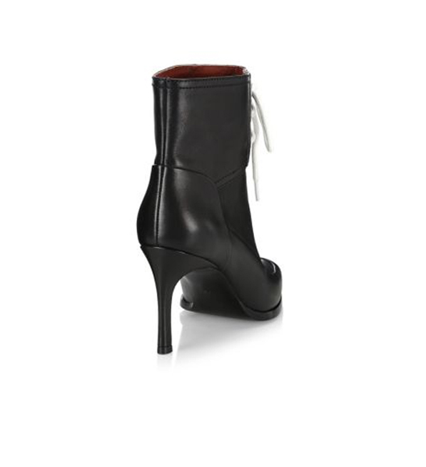 3.1 Phillip Lim Agatha Lace-Up Bootie in Black