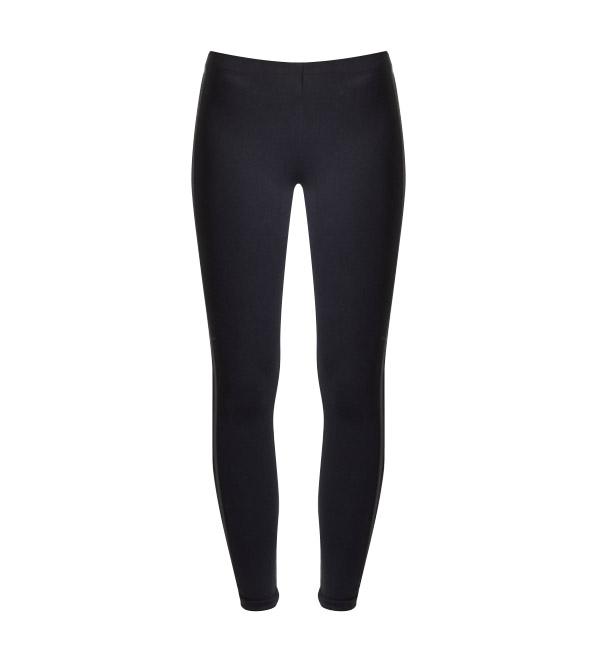 David Lerner Double Side Stripe Legging in Black