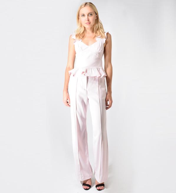 Karina Grimaldi Julian Pants in Light Pink