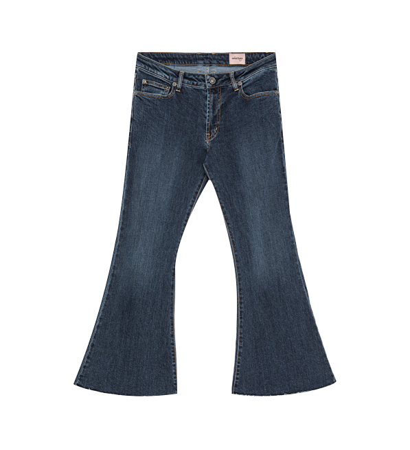 Ottod'Ame Cropped Flare Jeans
