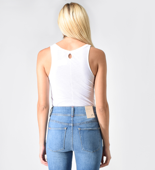 Humanoid Jaly Tank in White