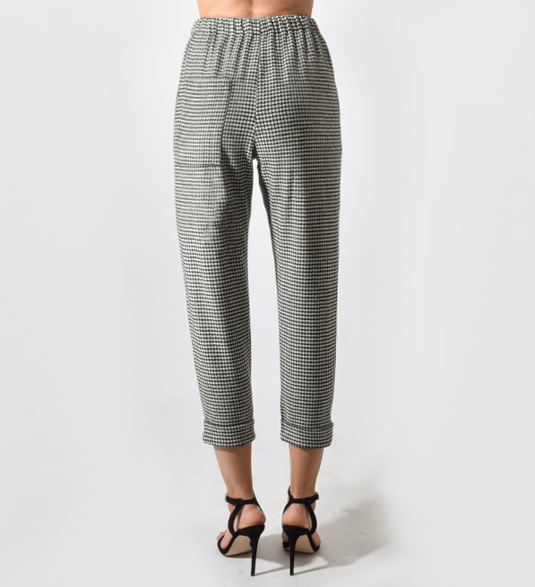 TELA Beato Houndstooth Trousers