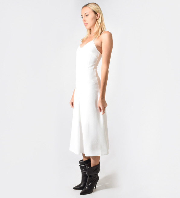 Bec & Bridge Amalia Midi Dress in Ivory