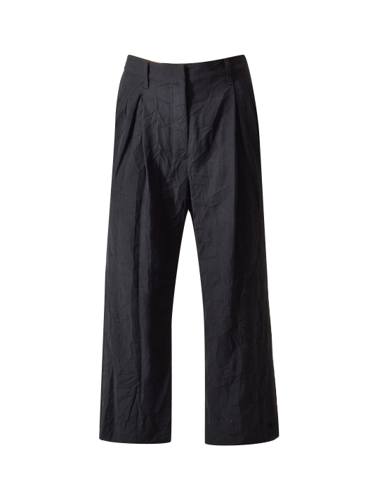 3.1 Phillip Lim Cropped Straight Tailored Pant in Black
