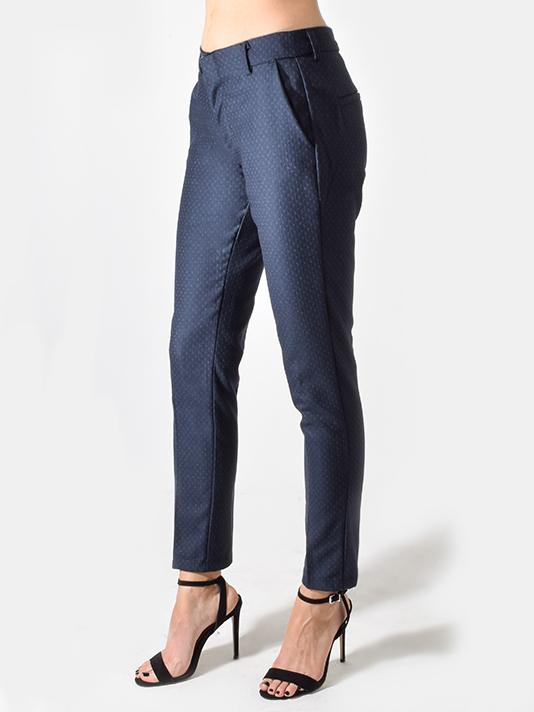 Reiko Track Fancy Pants in Navy