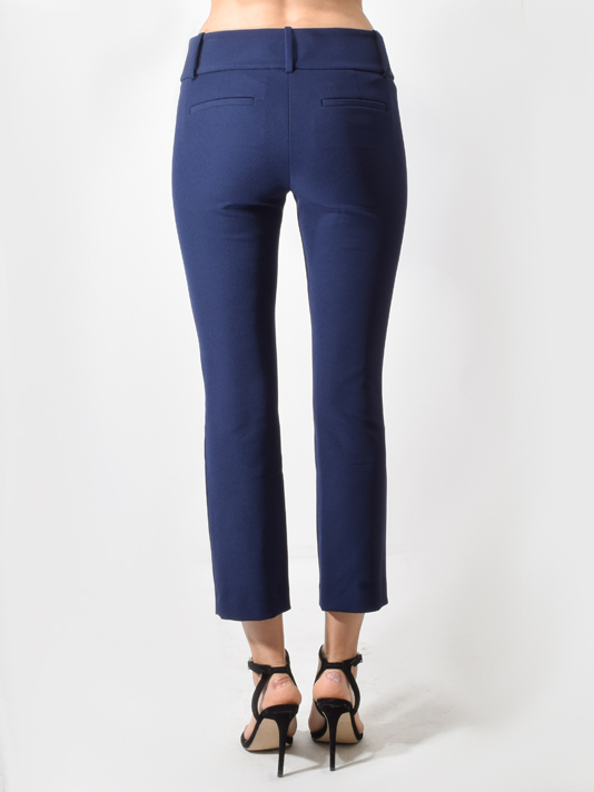 Stacey Slim Ankle Pant in Sapphire