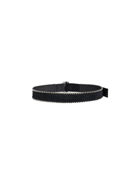 Rocka Ceinture Studded Black Belt