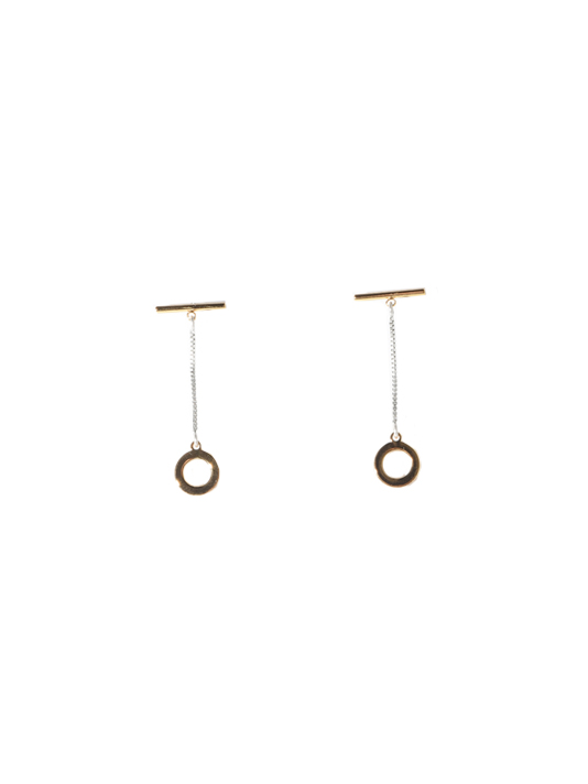 Jenny Bird Mimis Two Tone Earrings