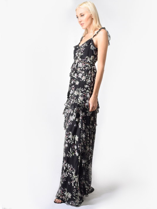 Love Sam Woodstock Floral Maxi Dress