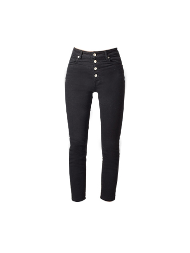 IRO Gaety Jeans in Black Denim