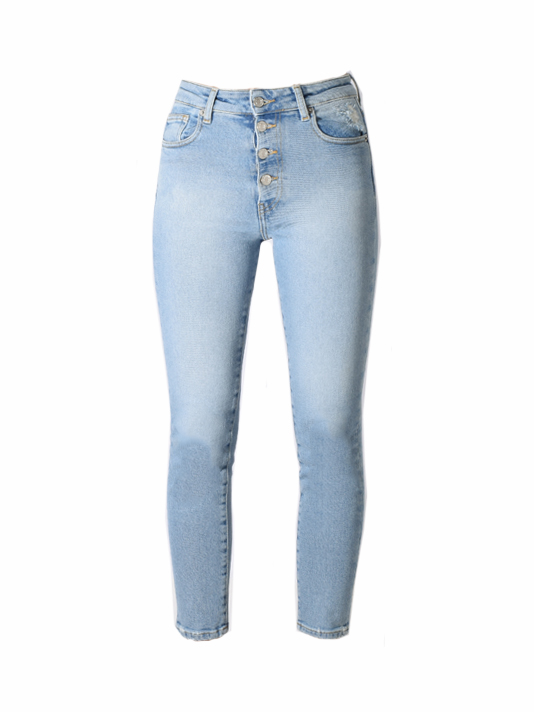 IRO Gaety Jean in Light Blue