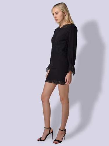 IRO Warry Robe Dress in Black