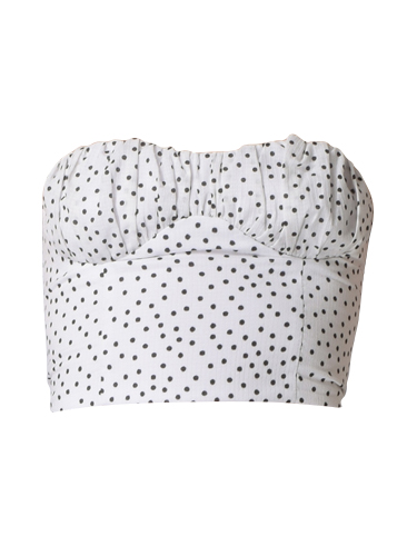 Bec & Bridge Miss Frenchie Top in Spot Print