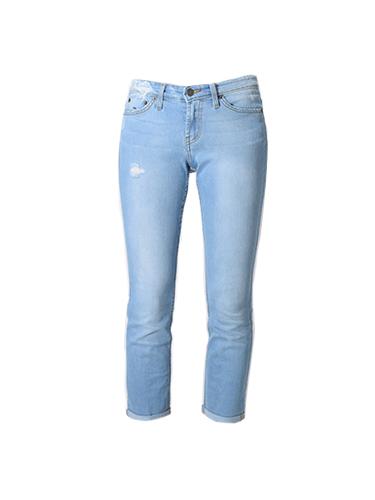 JET John Eshaya Roll-Up Faded Jean