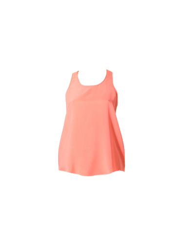 Lavender Brown A-Line Racerback Tank Top in Watermelon