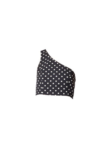 Cinq a Sept Maayan Top in Black Dotted