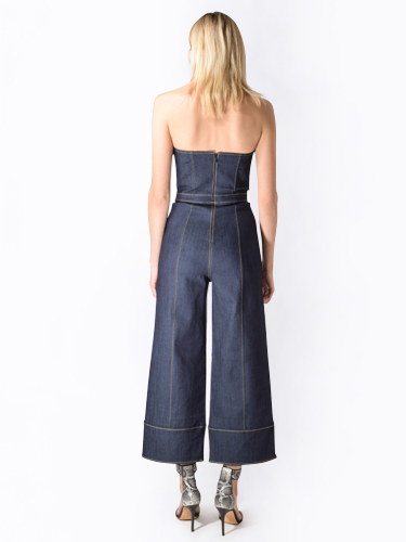 Cinq a Sept Zelda Denim Jumpsuit