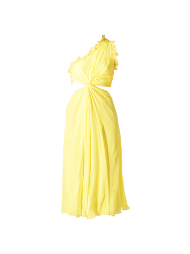 Cina a Sept Corinne Yellow Dress
