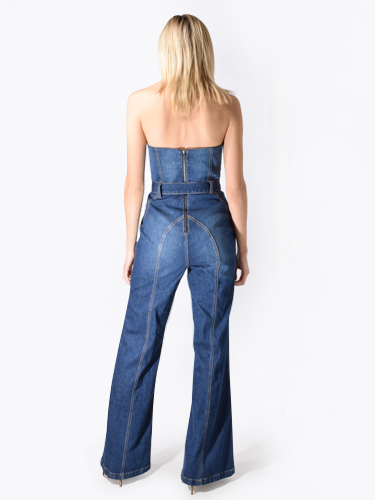 Alice & Olivia Gorgeous Susy Jumpsuit in Love Train