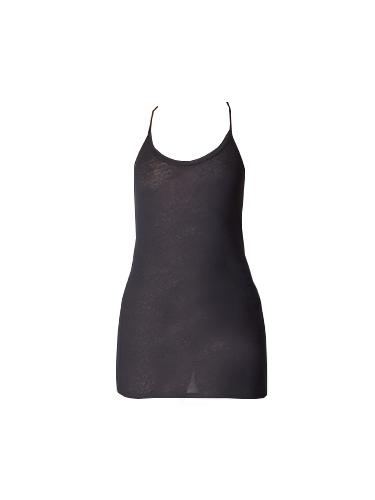 Humanoid Long Jersey Racerback Cami in Black