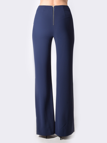 Alice & Olivia Jalisa High Waist Fitted Pant in Sapphire
