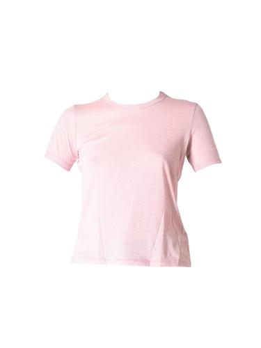 RTA Quinton Ringer Tee in Blush Pink