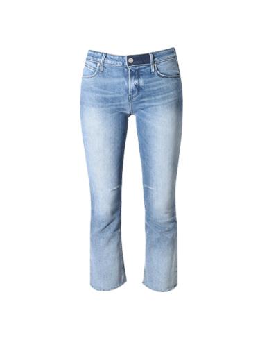 RTA Kiki Kick Flare Jean in Southbound Blue