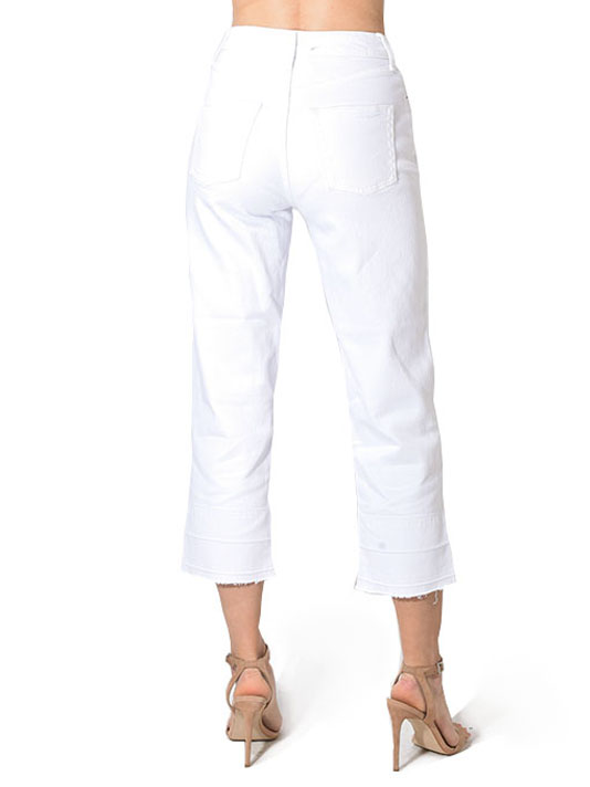 Etica Tyler Ankle Jeans in White Dawn