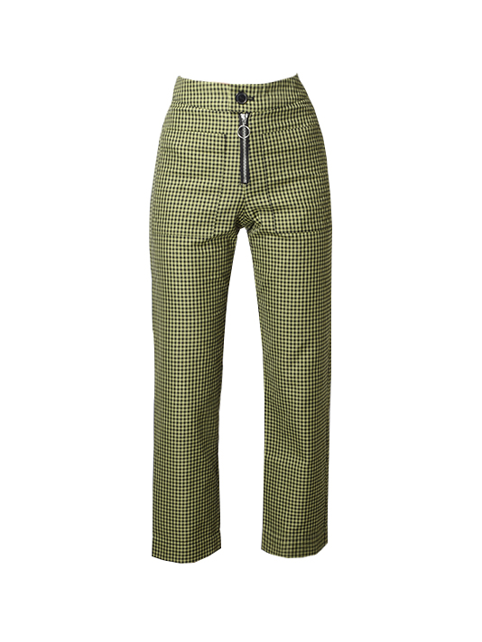 Capulet Keeley Pants in Matcha Gingham