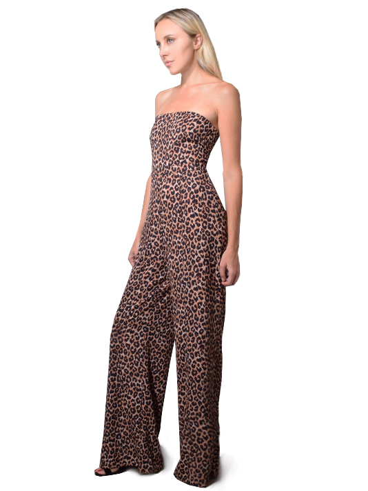 Likely Emile Jumpsuit In Leopard