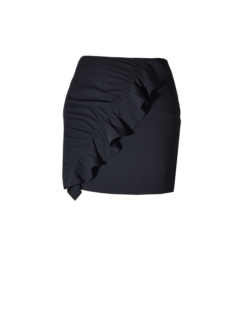 Karina Grimaldi  Danielle Mini Skirt In Black