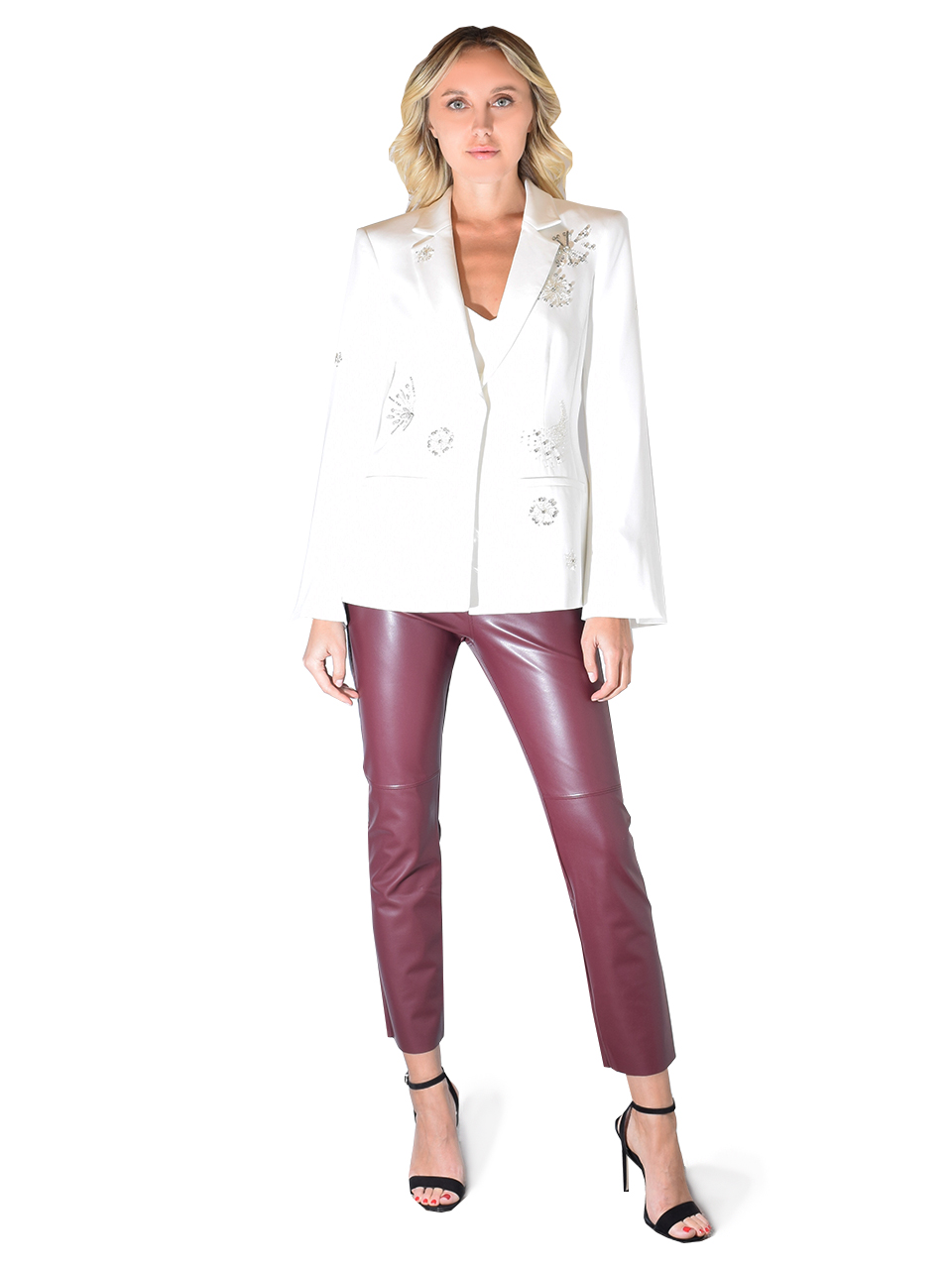 Cinq A Sept Shooting star Remi Blazer In White