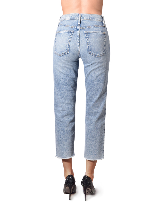Alice+Olivia Amazing High Rise Girlfriend Jeans In Last Call