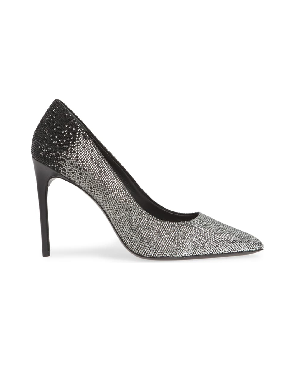 ALICE + OLIVIA Calliey Pump In Black/Silver