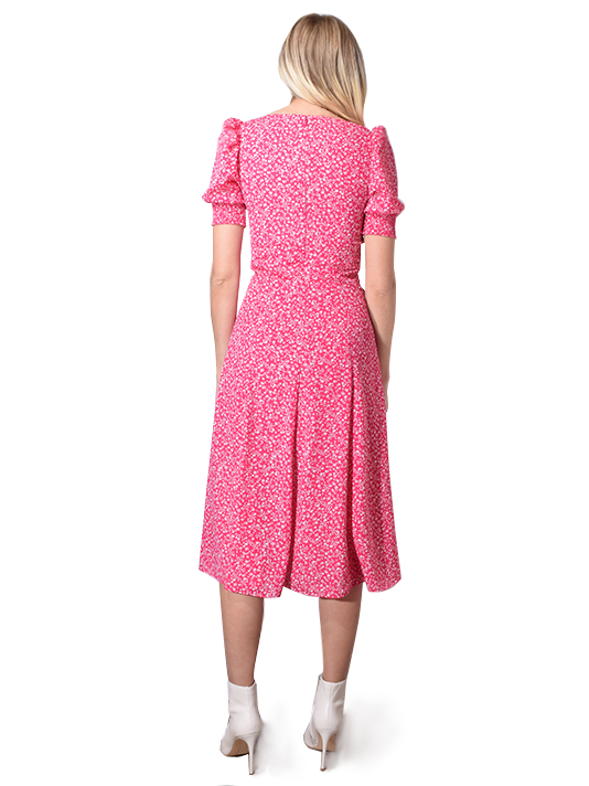 Mollina Dress In Pink