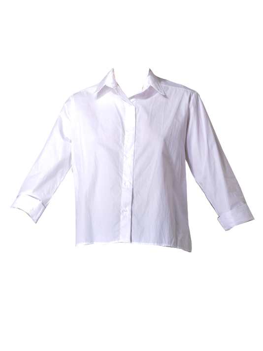 JET Cotton Washed Boxy Shirt in White