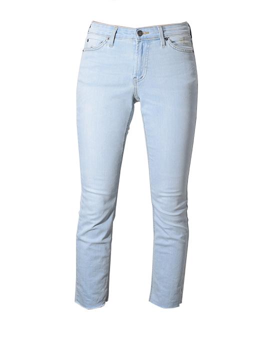 Super Fade Slim Jeans In Blue