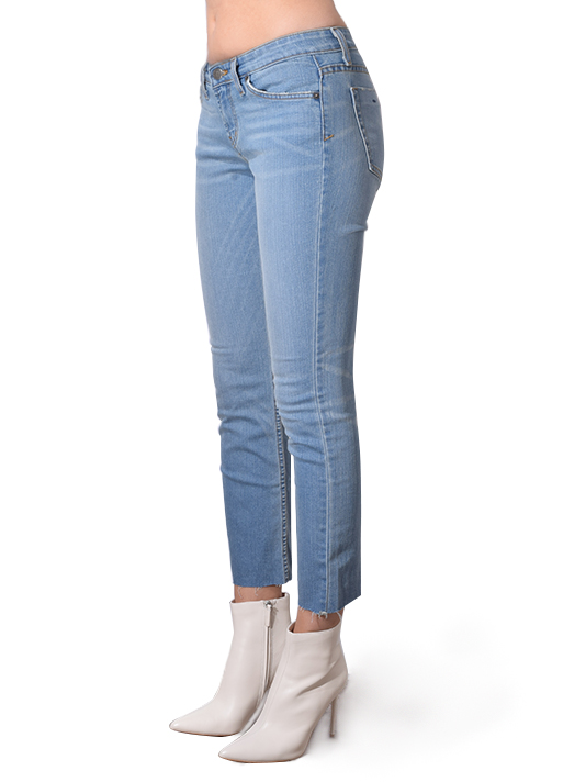 Hollywood Wash Middy Jean In Blue