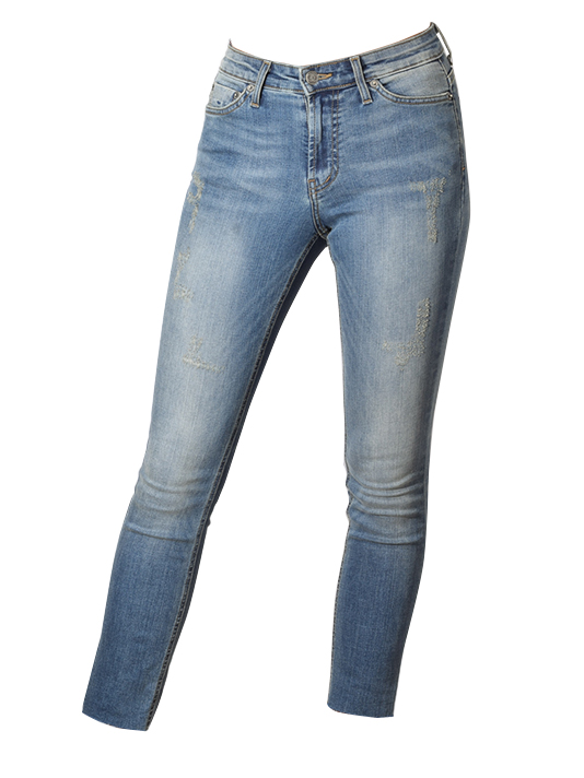Scratch Fade Silverlake Mid-Rise Jean